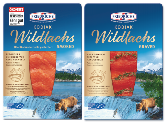 Kodiak Wildlachs mit MSC Siegel