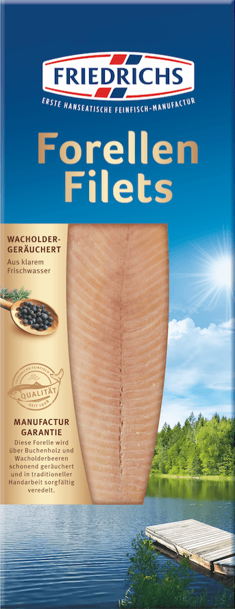 geräucherte Forellen-Filets